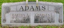 Martha A. <i>Harris</i> Adams