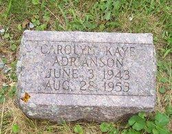 Carolyn K Adrianson