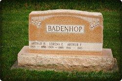 Arthur F Badenhop
