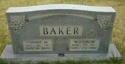 Fannie M Baker