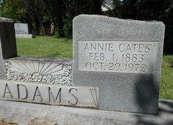 Annie Maye <i>Cates</i> Adams