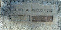 Carrie Jane <i>Askew</i> Mansfield