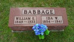 Ida Wilmena <i>Lower</i> Babbage