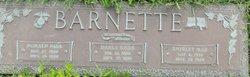 Shirley Mae <i>Weaver</i> Barnette