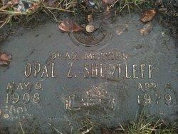 Opal Zon <i>Jenkins</i> Shurtleff