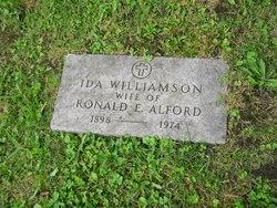 Ida <i>Williamson</i> Alford