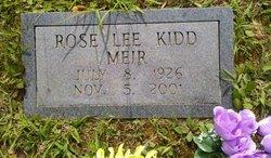Rose Lee <i>Kidd</i> Meir
