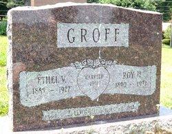 Ethel V <i>Eckman</i> Groff