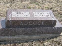 Edna F <i>Coppedge</i> Adcock