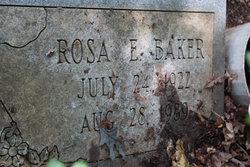 Rosa E Baker