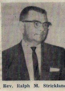 Rev Ralph Monroe Strickland