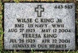 Wilse C King, Jr