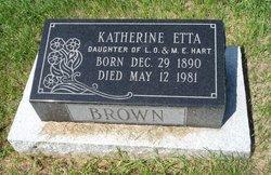 Katherine Etta <i>Hart</i> Brown