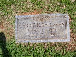 Garrie <i>Kizer</i> Callahan