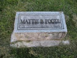 Mattie Belle <i>Hyatt</i> Foote