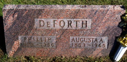 Augusta A. <i>Becker</i> DeForth
