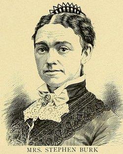 Martha Ellen <i>Pruden</i> Burk