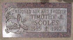 Timothy J Scoles