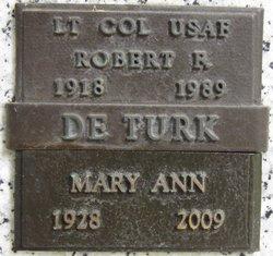 Robert F Deturk