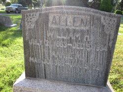 Anne Marie Annie <i>Nelson</i> Allen