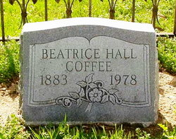 Beatrice Frances <i>Hall</i> Coffee