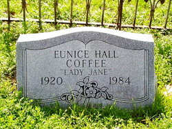 Eunice Hall Lady Jane Coffee