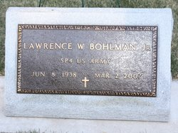 Lawrence W Larry Bohlman, Jr