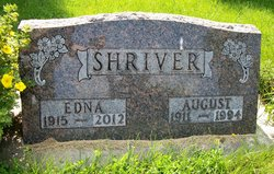 Edna Marie Dordie <i>Kruse</i> Shriver
