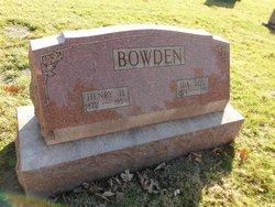 Ida Lou <i>Hendren</i> Bowden