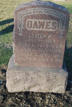 Lester W Dawes