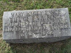 Mary Hagey <i>Wunder</i> Pence