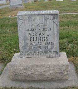 Adrian J(ohan) Elings
