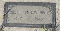 Ruby Ellen <i>Cadotte</i> Davenport