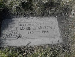 Rose Marie Marie <i>Allen</i> Charlton