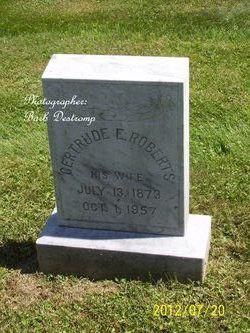 Gertrude E <i>Roberts</i> Patterson