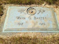 Gertrude Wava <i>Fisher</i> Barter