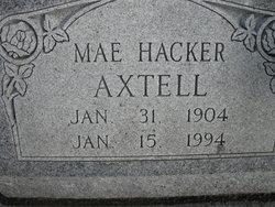 Mae <i>Hacker</i> Axtell