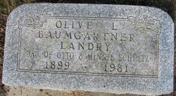 Olivel <i>Schultz</i> Baumgartner-Landry