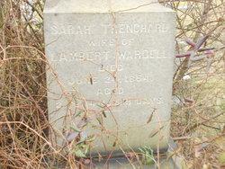 Sarah <i>Trenchard</i> Wardell