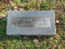 Itha May <i>Buck</i> Kruse