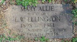 Mary Allie Ellington