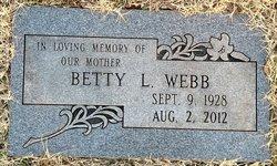 Betty Lou <i>Stone</i> Webb