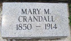 Mary Mahala <i>Spainhoward</i> Crandall