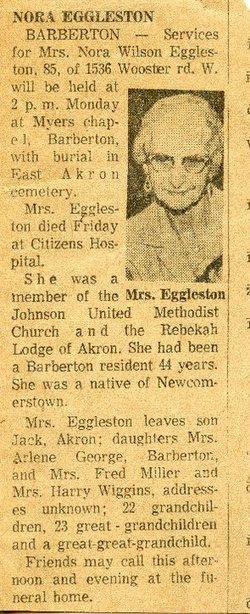 Nora <i>Wilson</i> Eggleston