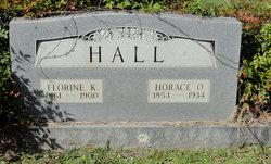 Florine Annie <i>Kirkpatrick</i> Hall