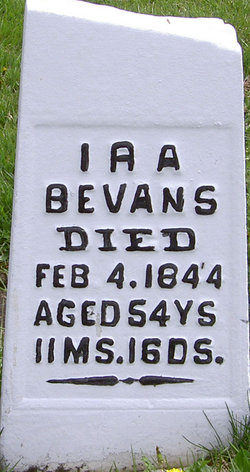 Ira Bevans