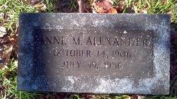 Anne <i>Miller</i> Alexander