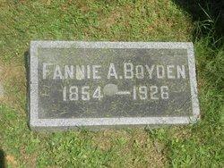 Fannie <i>Armstrong</i> Boyden
