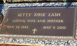 Betty <i>Rose</i> Lash