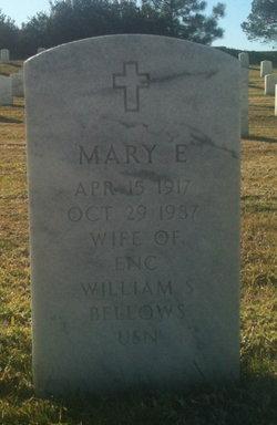 Mary E Bellows